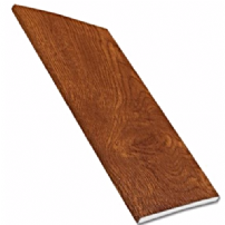 Golden Oak uPVC Plain Soffit Board 9mm 5mt